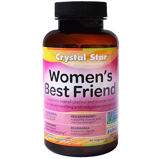Crystal Star, Women's Best Friend, 90 Cápsulas Veganas