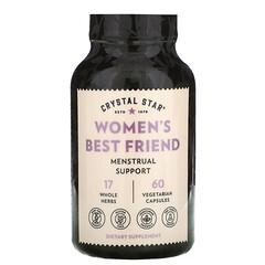 Crystal Star, 女性摯友生理期支持素食膠囊,60 粒裝