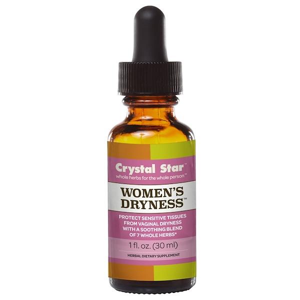 Crystal Star, Women's Dryness, 1 fl oz (30 ml) (Discontinued Item)
