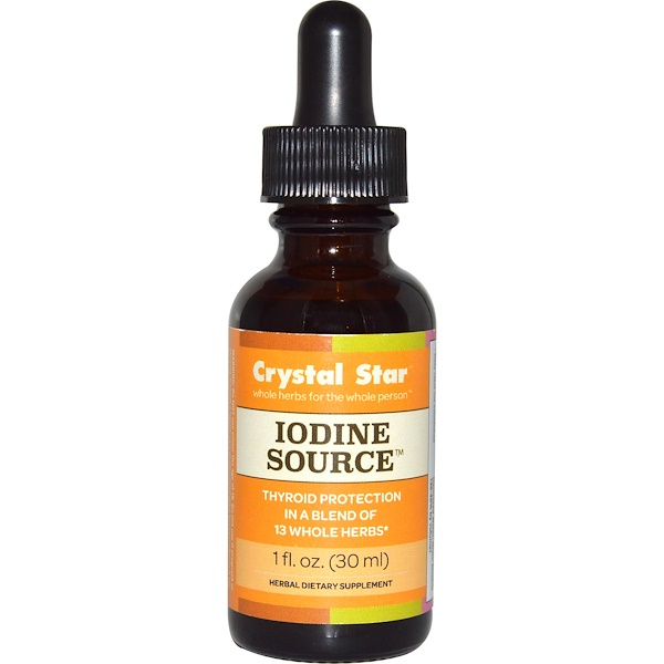 Crystal Star, Iodine Source, 1 fl oz (30 ml) (Discontinued Item)