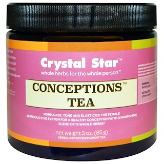 Crystal Star, Conceptions Tea, 3 oz (85 g)