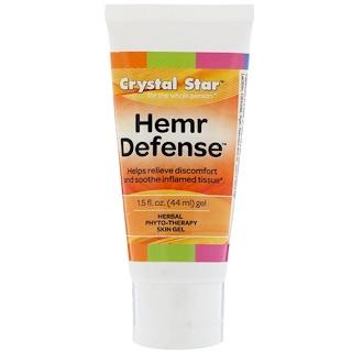 Crystal Star, Hemr Defense Gel, 1.5 fl oz (44 ml)