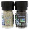Celtic Sea Salt, Mini Mixed Grinder Set, Light Grey Celtic Salt & Pepper Grinder, 2.9 oz (82 g)