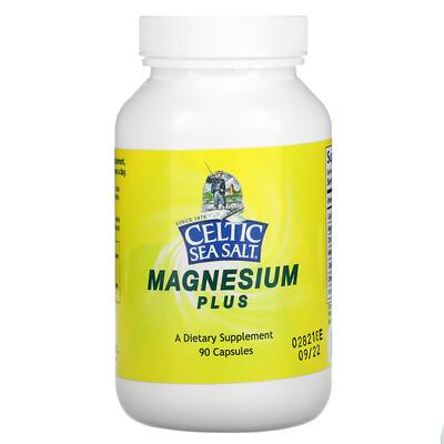 Купить Celtic Sea Salt Magnesium Plus, 90 Capsules