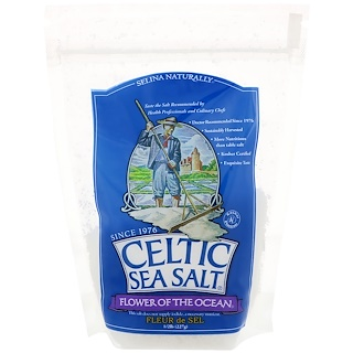 Celtic Sea Salt, Flower of The Ocean, 1/2 lb (227 g)