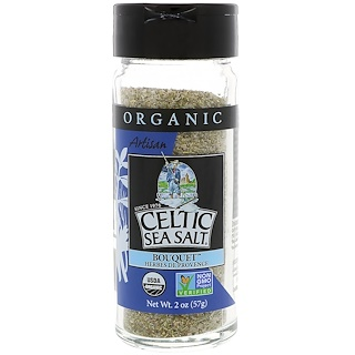 Celtic Sea Salt, Organic, Artisan, Bouquet Herbes De Provence, 2 oz (57 g)