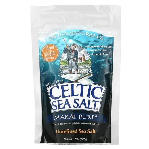 Makai Pure,未精製海鹽,0.5 磅(227 克)