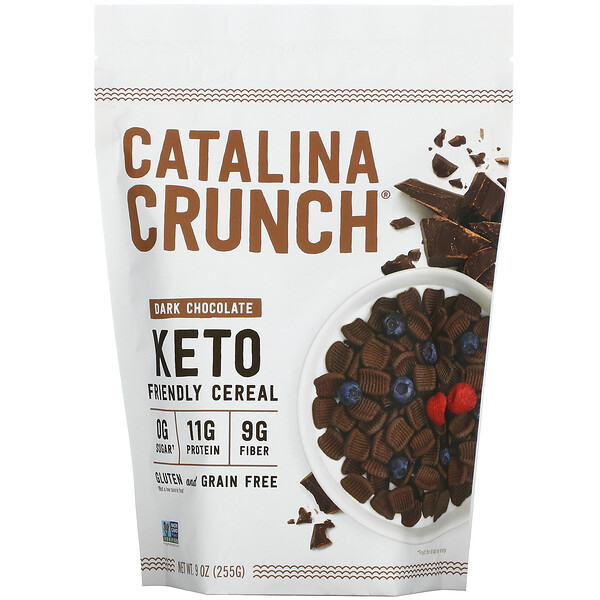 Keto Friendly Cereal, Dark Chocolate, 9 oz (255 g)