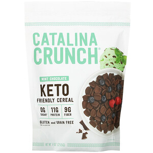 Catalina Crunch, Keto Friendly Cereal, Mint Chocolate, 9 oz (255 g)