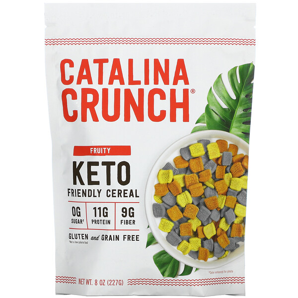 Keto Friendly Cereal, Fruity, 8 oz (227 g)