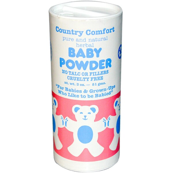 Country Comfort, Baby Powder, 3 oz (81 g)