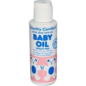 Кантри Комфорт, Baby Oil, 4 fl oz (118 ml) отзывы покупателей