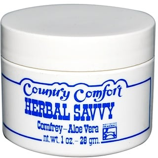 Country Comfort, Herbal Savvy, Consuelda-aloe vera, 28 g (1 oz)