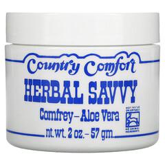 Country Comfort, 白毛茛-沒藥,紫草蘆薈,2 盎司(57 克)