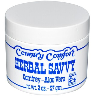 Country Comfort, Herbal Savvy, Consuelda-Aloe vera, 57 g (2 oz)