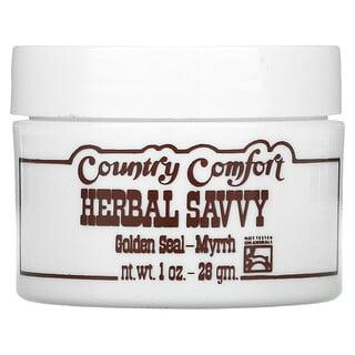 Country Comfort, Herbal Savvy, Golden Seal-Myrrh, 1 oz (28 g)
