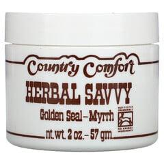 Country Comfort, Herbal Savvy白毛茛-沒藥,2盎司(57克)