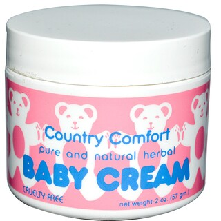 Country Comfort, Baby Cream, 2 oz (57 g)