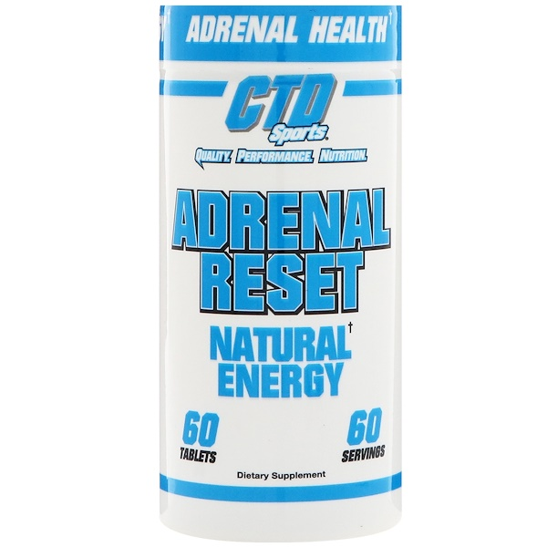 CTD Sports, Adrenal Reset腎上腺保健劑,60片