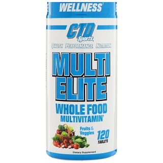 CTD Sports, Multi Elite Multivitamin, 120 Tablets