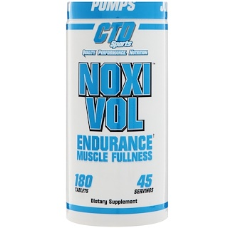 CTD Sports, Noxivol, 180 Tabletas