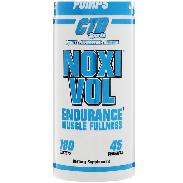CTD Sports, Noxivol, 180 Tablets (Discontinued Item)