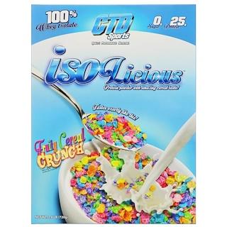 CTD Sports, Isolicious порошок протеина, фруктовые хрустящие хлопья, 1,6 ф (720 г)