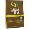 Cusa Tea, Органический английский чай для завтрака, 10 индивидуальных порций, 0,04 унц. (1,2 г) каждый