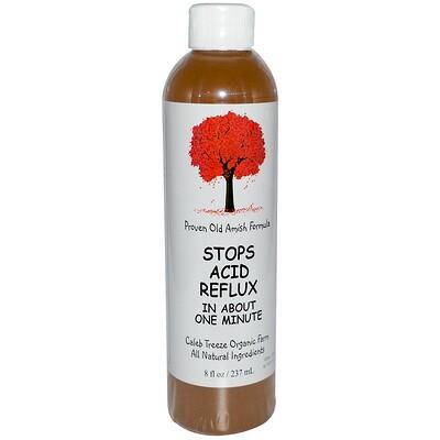 Caleb Treeze Organic Farm Stops Acid Reflux, 8 жидких унций (237 мл)