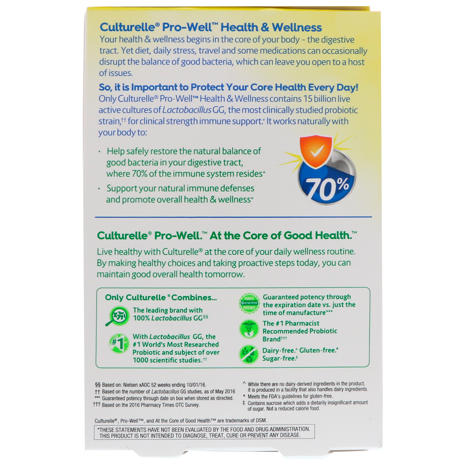 Culturelle Health Wellness Immune Support 30 Once Daily Gummy Kids 70 Click To Zoom