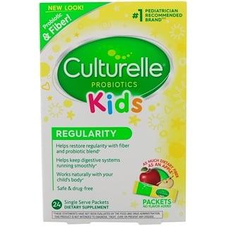 Culturelle, Probióticos, Niños, Regularidad, 24 paquetes con porciones individuales