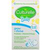 Culturelle, قطارة بروبيوتيك للأطفال، للمساعدة على النمو والكبر، بروبيوتيك + فيتامين د، لعمر 0- 12 شهر، 0.30 أونصة سائلة (9 مل)