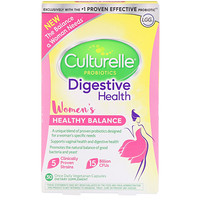 Probiotics, Digestive Health, Women's Healthy Balance, 30 Once Daily Vegetarian Capsules - фото