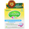 Culturelle, Kids Complete Multivitamin + Probiotic, Fruit Punch, 50 Chewable Tablets