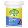 Culturelle, Kids, Probiotics, Multivitamin + Probiotic, 3+ Years, Natural Fruit Punch, 50 Chewable Tablets