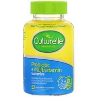 Culturelle, 益生菌+複合維生素軟糖,混合漿果,20 億 CFU,52 顆軟糖