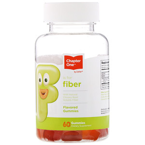 Chapter One, F Is For Fiber, Flavored Gummies, 60 Gummies
