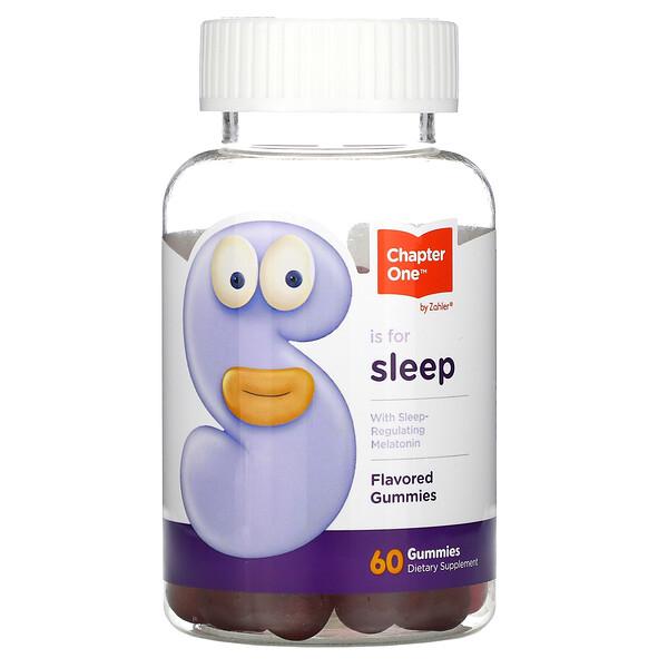 S is For Sleep(S イズ フォー スリープ)、メラトニン配合、フレーバーグミ、60粒