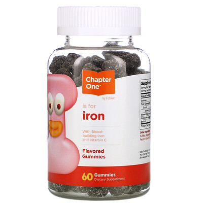 Chapter One I is for Iron, 60 Gummies