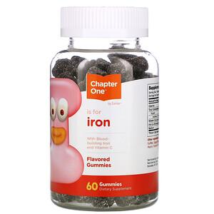 Chapter One, I Is for Iron, Flavored Gummies, 60 Gummies отзывы покупателей