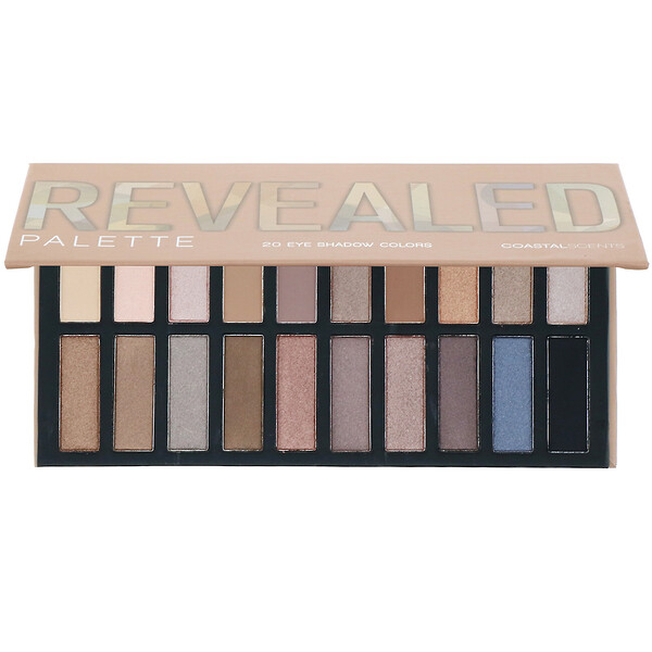 Coastal Scents, Revealed, Eyeshadow Palette, 1 oz (30 g) (Discontinued Item)