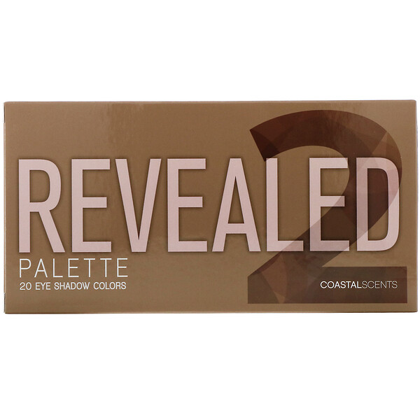 Coastal Scents, Revealed 2, Eyeshadow Palette, 1 oz (30 g) (Discontinued Item)