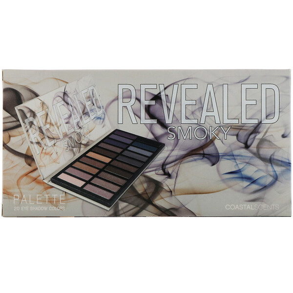 Coastal Scents, Revealed, Smoky Eyeshadow Palette, 1 oz (30 g)