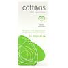 Cottons, 100% Natural Cotton,  Tampons with Applicator, Regular, 16 Tampons