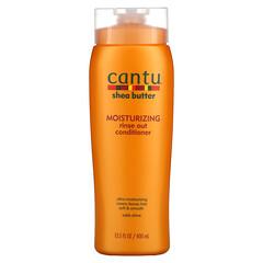 Cantu, 乳木果油,保溼衝洗型護發素,13.5 液量盎司(400 毫升)