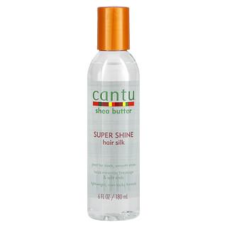 Cantu, Shea Butter, Super Shine Hair Silk, 6 fl oz (180 ml)