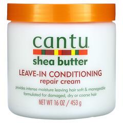 Cantu, 乳木果油,免洗修護乳,16 盎司(453 克)