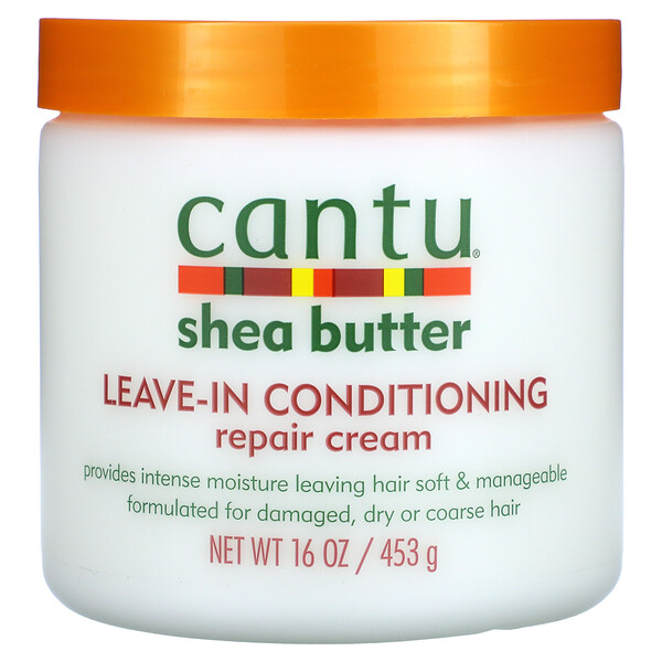 Shea Butter, Leave-In Conditioning Repair Cream, 16 oz (453 g)