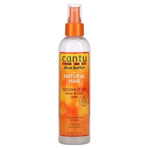 Cantu, Shea Butter for Natural Hair, Coconut Oil Shine & Hold Mist, 8 fl oz (237 ml)
