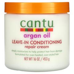 Cantu, 摩洛哥堅果油,免洗調理修復霜,16 盎司(453 克)